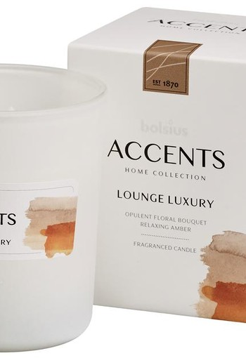 Bolsius Accents geurkaars lounge luxury (1 stuks)