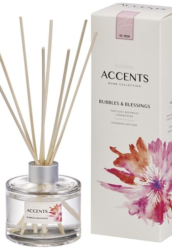 Bolsius Accents diffuser bubbles & blessings (100 ml)