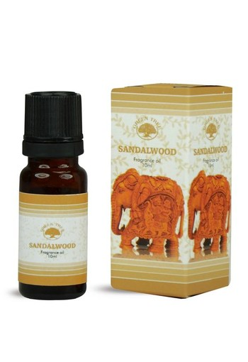 Green Tree Geurolie sandelwood (10 ml)