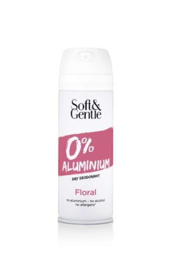 Soft & Gentle Deodorant spray floral aluminium free (150 ml)