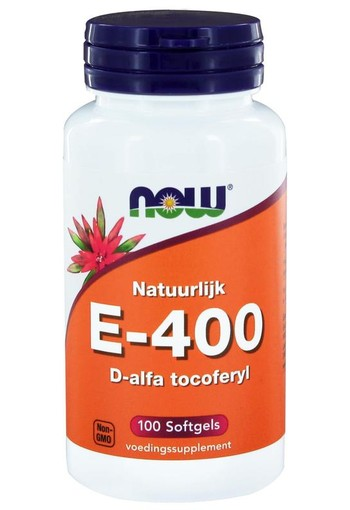 NOW Vitamine E-400 d-alfa tocoferyl (100 softgels)