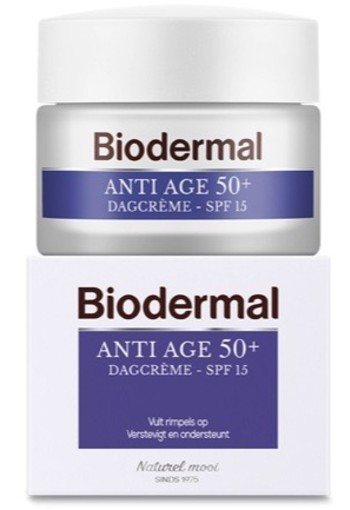 Biodermal Dagcreme Anti Age 50+ 50ml