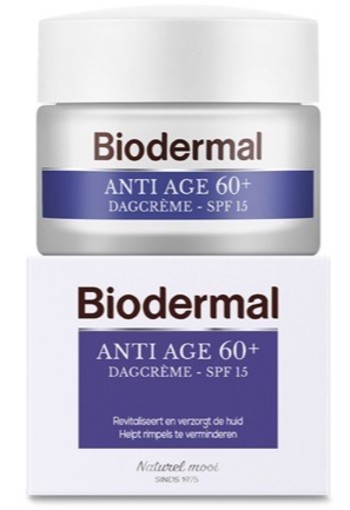 Biodermal Dagcreme Anti Age 60+ 50ml