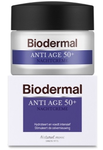 Biodermal Nachtcreme Anti Age 50+ 50ml