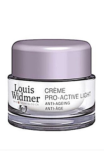 Louis Widmer Pro-active Cream Light (ongeparfumeerd) 50 Ml