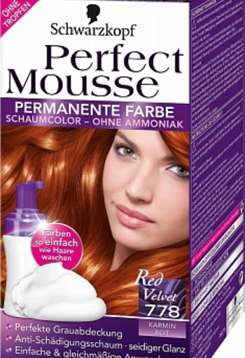 SCHWARZKOPF PERFECT MOUSSE 778 KAMINROT