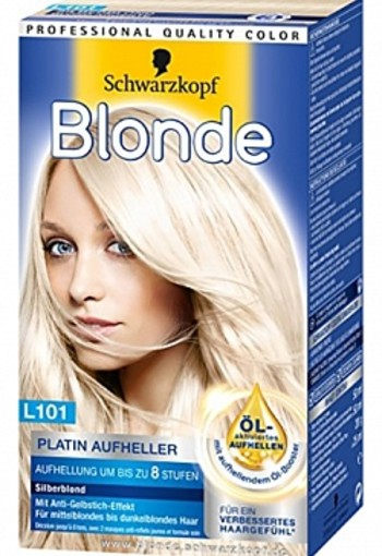 SCHWARZKOPF BLONDE INTENSIVE PLATINUM BLOND L101