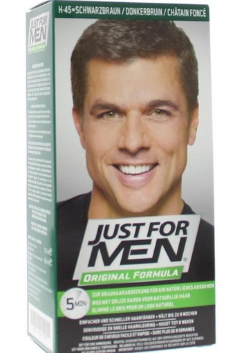 Just For Men Donker bruin H45 (1 set)