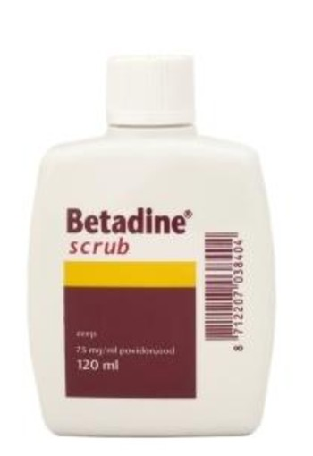Betadine Scrub (120 ml)