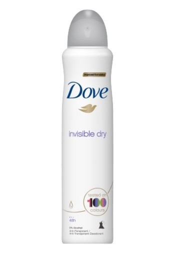 Dove Deodorant Spray Invisible Dry 250ml