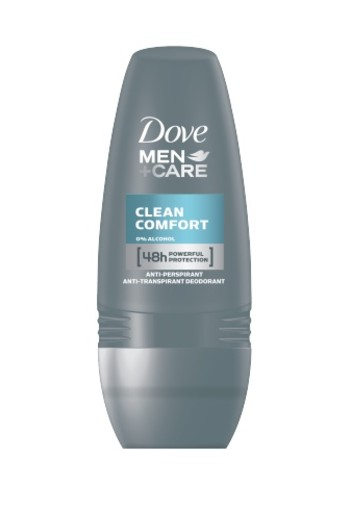 Dove Deodorant Roll On Men Clean Comfort 50ml