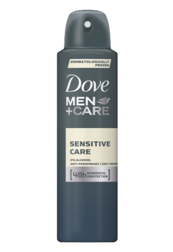 Dove Deodorant Spray Men Sensitive 150ml