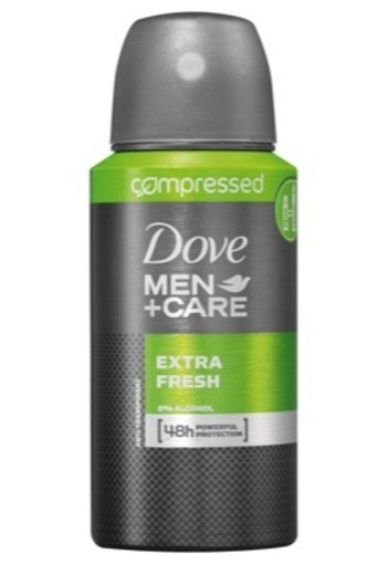 Dove Men Deodorant Body Spray Compressed Extra Fresh 75ml