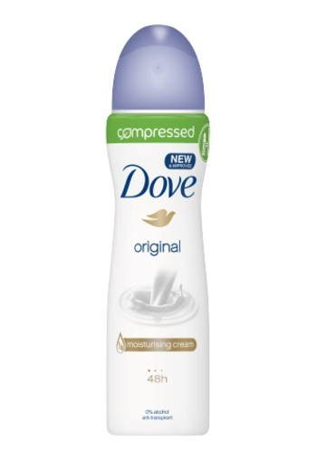 Dove Deodorant Spray Compressed Original 75ml