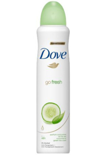 Dove Deodorant Spray Go Fresh Cucumber Actie 250ml