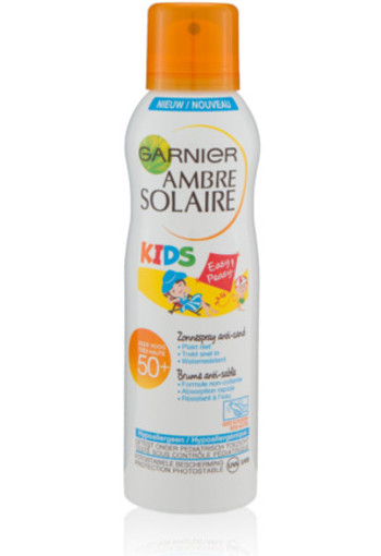 Garnier Ambre Solaire Kids Sensitive Expert+ Zonnespray Anti-zand 200ml