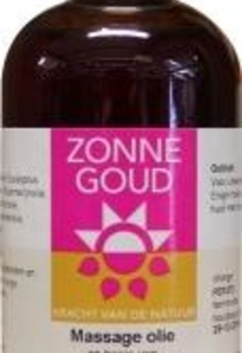 Zonnegoud Massage olie (100 ml)