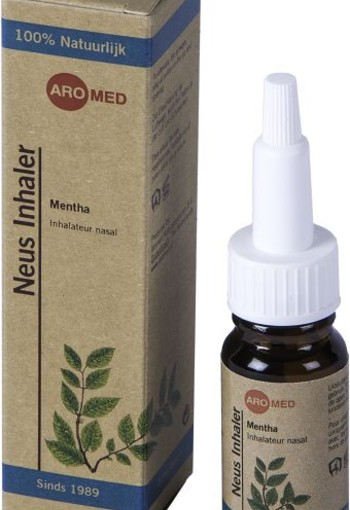 Aromed Mentha neus inhaler (10 ml)