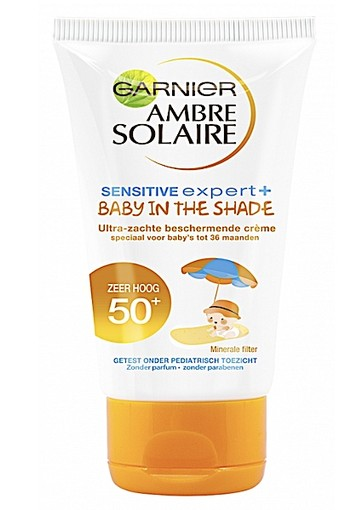 GARNIER AMBRE SOLAIRE BABY IN THE SHADE CREME FACTOR(SPF)50+