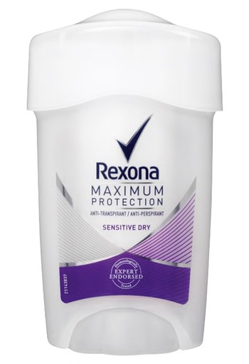 Rexona Sensitive Dry Maximum Protection Stick Anti-transpirant voor vrouwen 45ml