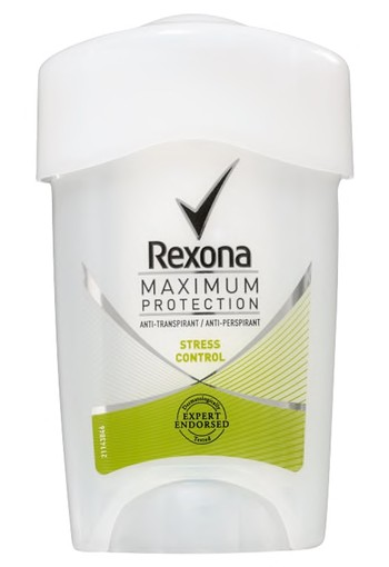 Rexona Stress Control Maximum Protection Stick Anti-transpirant voor vrouwen 45ml