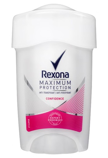 Rexona Confidence Maximum Protection Stick Anti-transpirant voor vrouwen 45ml