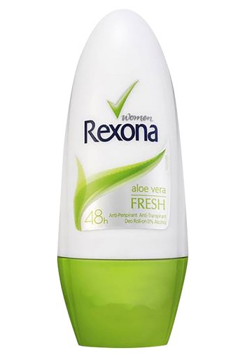 Rexona Fresh Aloë Vera Roll-on Anti-transpirant voor vrouwen 50ml