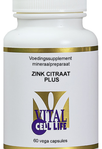 Vital Cell Life Zink citraat plus (60 capsules)