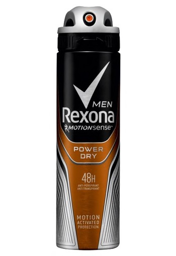 Rexona Power Dry Aerosol Anti-transpirant voor mannen 150ml