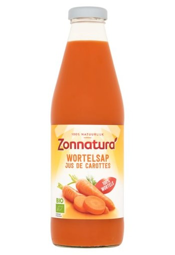 Zonnatura Wortelsap (750 ml)