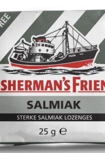 Fishermansfriend Salmiak suikervrij (25 gram)