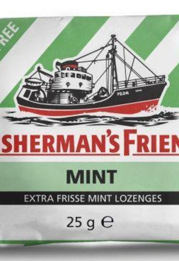 Fishermansfriend Mint suikervrij (25 gram)