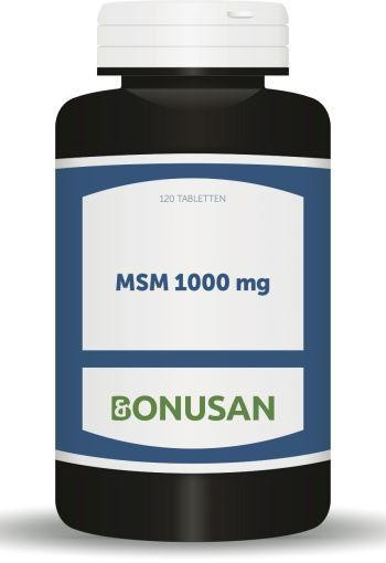 Bonusan MSM 1000 mg (120 tabletten)
