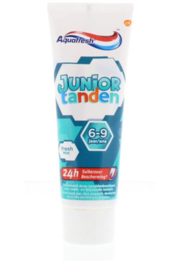 Aquafresh Tandpasta Junior Teeth 6+ 75ml