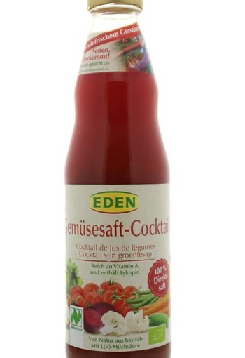 Eden Groentencocktail melkzuur (750 ml)
