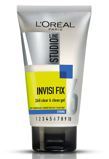 L'Oréal Paris Studio Line Invisi Fix 24H Clear & Clean Gel Strong - 150 ml
