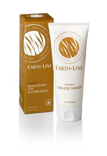 Earth-Line Vitamine E bruin zonder zon (100 ml)