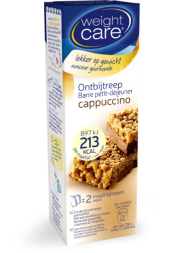 Weight Care Ontbijt Afslankreep Cappuccino 116g