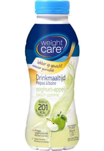 Weight Care Afslank Drinkmaaltijd Yoghurt Appel 330ml