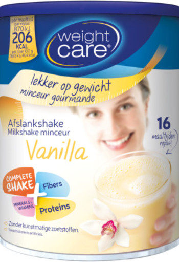Weight Care Afslankshake Vanille 436g