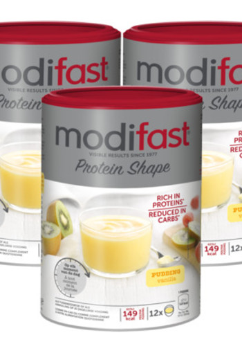 Modifast Protein Shape Pudding Vanille Trio 3x 540gr