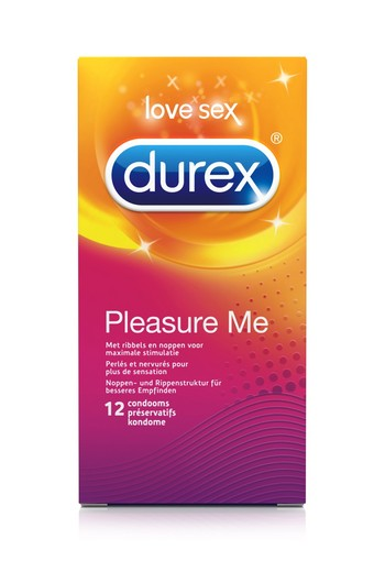 Durex Pleasure Me 12st