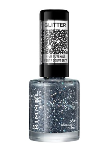 GLITTER HIGH COVERAGE NAILPOLISH DIAMOND DUST