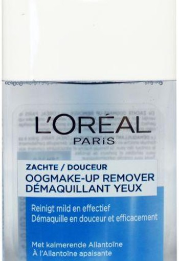 Loreal Zachte oogmake-up remover (125 ml)