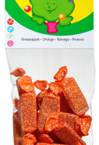 Candy Tree Sinaasappeltoffees (75 gram)