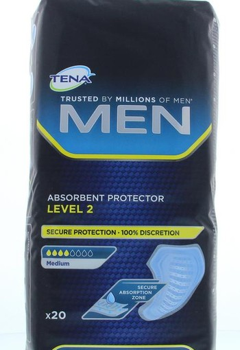 Tena Men level 2 (20 stuks)