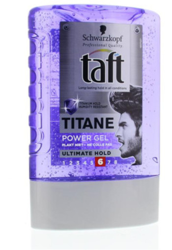 Taft Titane Power Gel Ultimate Hold Tottle 300ml