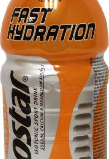 Isostar Liquid petfles orange (500 ml)