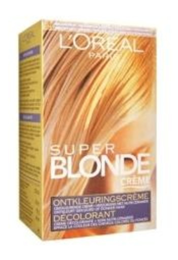 Loreal Super blond creme ontkleuring (1 set)