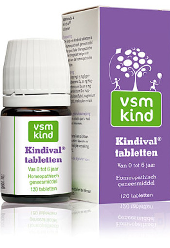 VSM KIND KINDIVAL 120 tabletten
